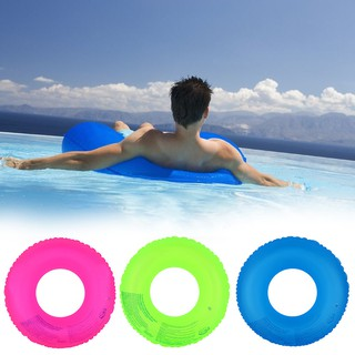 Adult Children's Summer Outdoor Inflatable Fluorescent Swimming Circle Swimm DJJS