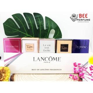 [CHÍNH HÃNG] Bộ Giftset nước hoa Lancome 5 Chai - The Best Of Lancome Fragrances thumbnail
