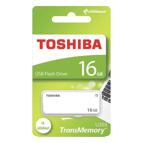 USB Toshiba 16GB USB 2.0 Transmemory Yamabiko White bh 2 năm FPT LH 0962635288 Giá chỉ 160.000₫