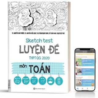 Sách - Sketch Test Luyện Đề THPTQG 2020 môn Toán thumbnail