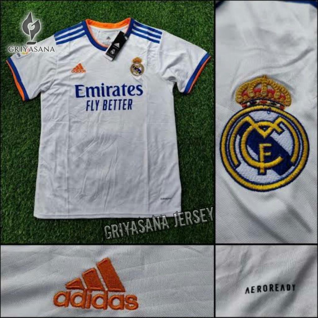 Áo thun Jersey Real Madrid Home 2021/2022 GRADE ORI