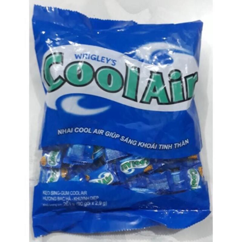 Kẹo Gum Cool Air hương bạc hà 116g (40 viên)