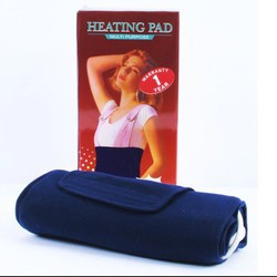 Đai Quấn Nóng Đôi Giảm Mỡ Heating Pad dây trắng dài loại xịn