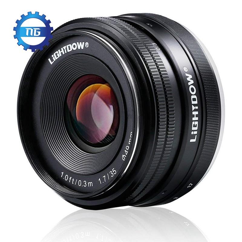 Ống kính 35mm hình siêu anh hùng cho Sony Alpha a6000 a6300 a6500 A5100 A5000