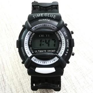 DH Đồng hồ điện tử trẻ em giới tính TIME CLUE dây cao su cực đẹp 8 X05