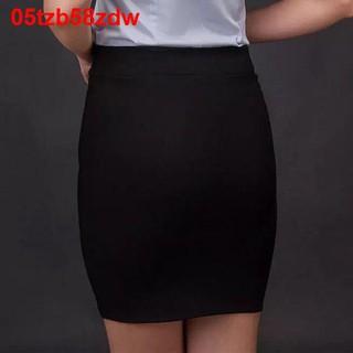 2020 túi thun hông váy cao cạp chuyên nghiệp một bước màu đen OL phù hợp với công sở phi sắt11 thumbnail