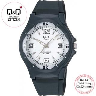 Đồng hồ nam thể thao Q&Q Citizen VP58J004Y kim dạ quang dây nhựa thương hiệu Nhật Bản