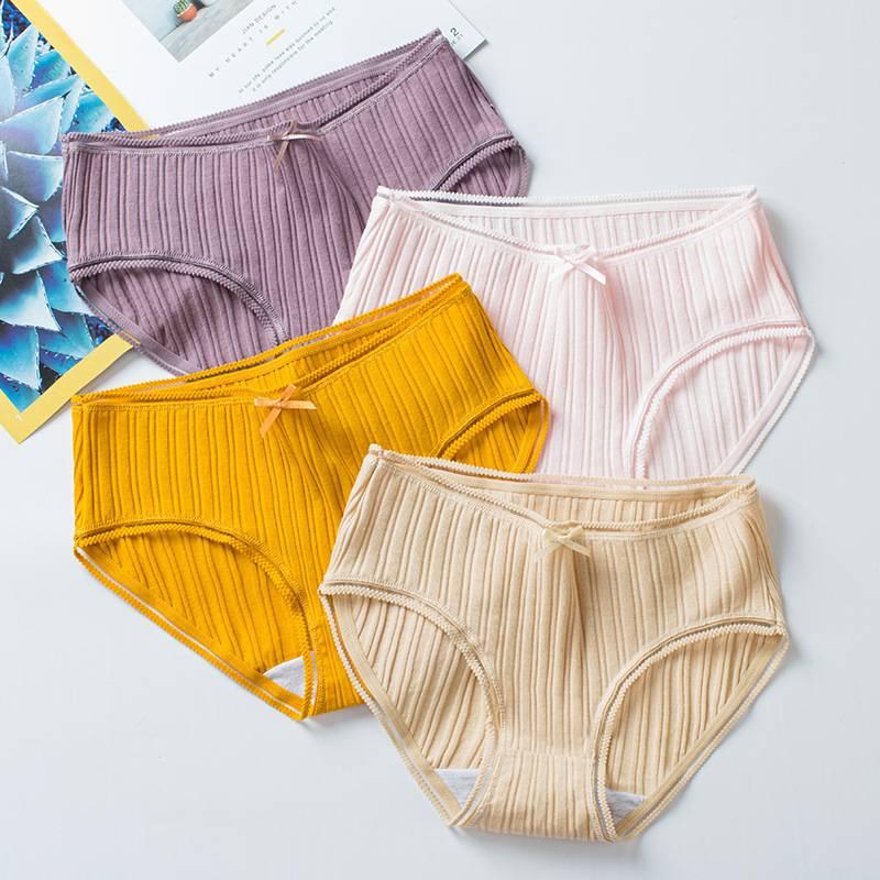 Cotton Cotton Hollow Thread Lace Ladies Ladies Hip Sushi Girl Fresh Underwear