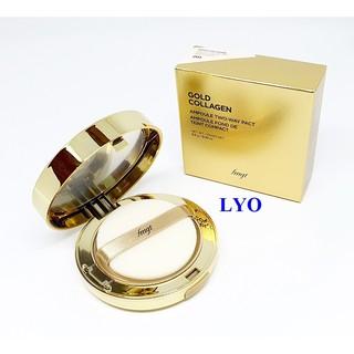 Phấn phủ Gold The face shop Collagen Ampoule Two- Way Pact Hàn Quốc 9.5g thumbnail