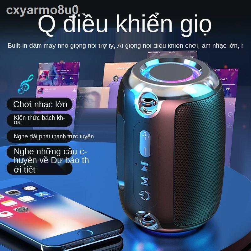 ▫Loa bluetooth thông minh không dây loa nhỏ loa siêu trầm của Đức chất lượng âm thanh cao loa ngoài trời âm lượng lớn lo