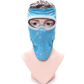 Mặt nạ bảo hộ chống tia UV Knoxon Xanh hoa hồng - M022