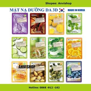 Mặt nạ dưỡng da 3D Foodaholic Natural Essence Mask Anvishop thumbnail