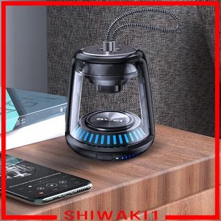 Loa Bluetooth Không Dây Chất Liệu Acrylic Trong Suốt Chống Thấm Nước Nhiều Màu Sắc Shiwaki1