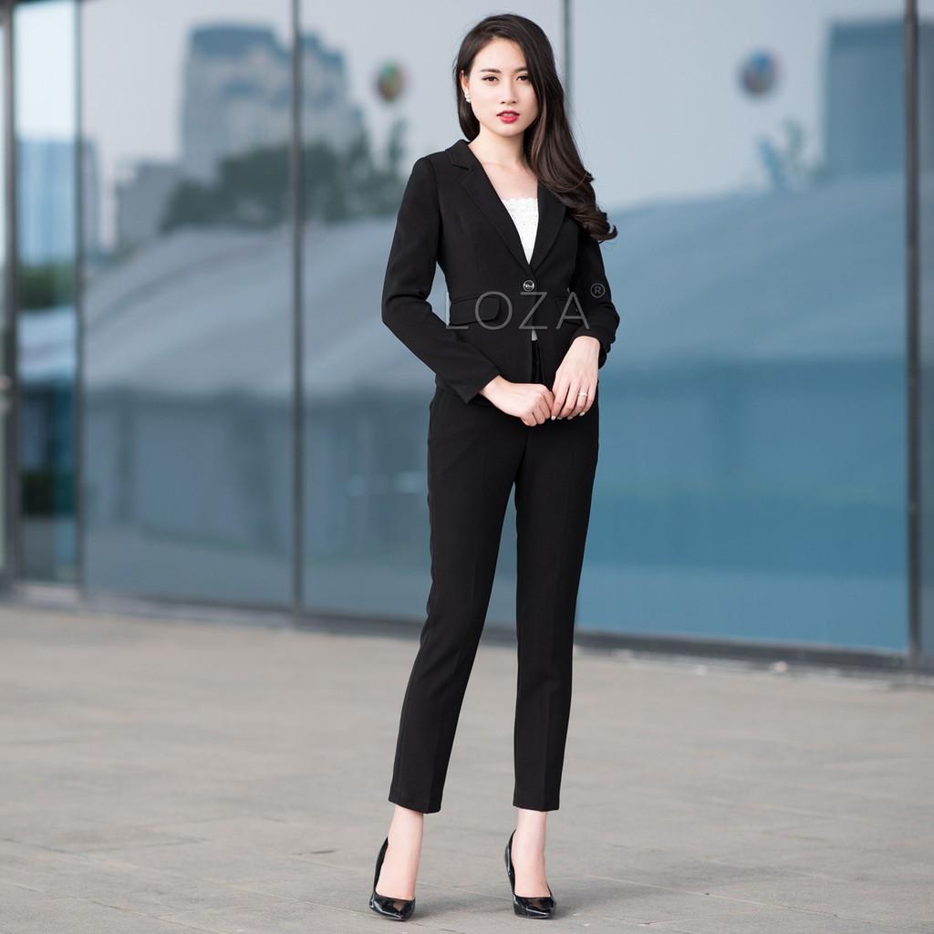 LV718 Áo vest nữ Hàn Quốc kiểu túi nổi