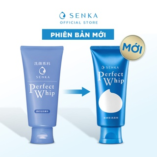 Hình ảnh [Mã FMCGMALL - 8% đơn 250K] Sữa rửa mặt tạo bọt chiết xuất tơ tằm trắng Senka Perfect Whip 120g_70227-3