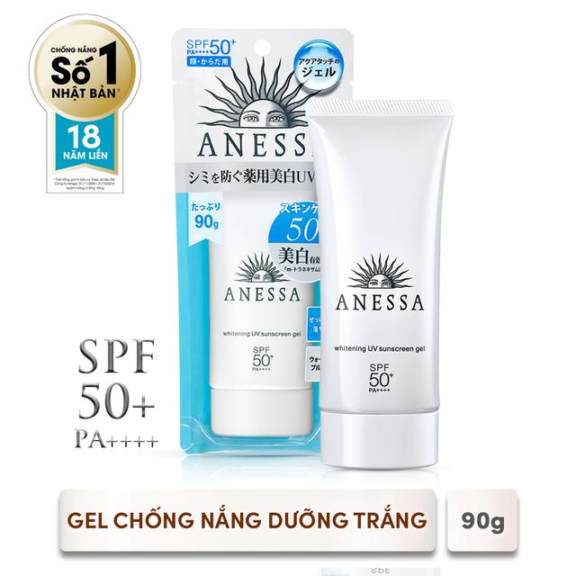 [HCM]Gel chống nắng dưỡng trắng Anessa Whitening UV Sunscreen Gel 90g_14719
