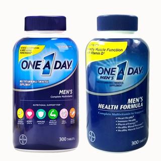 Vien Uống One A Day Men'S Multivitamin Health Formula, 300 Viên Mỹ Mẫu Mới