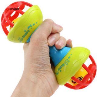 [Mã TOYOCT hoàn 20K xu đơn 50K] Lục lạc cầm tay 2 đầu mềm cho bé