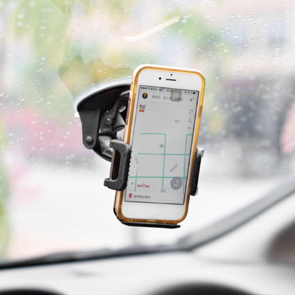 Giá đỡ điện thoại gắn xe hơi xoay 360 độ