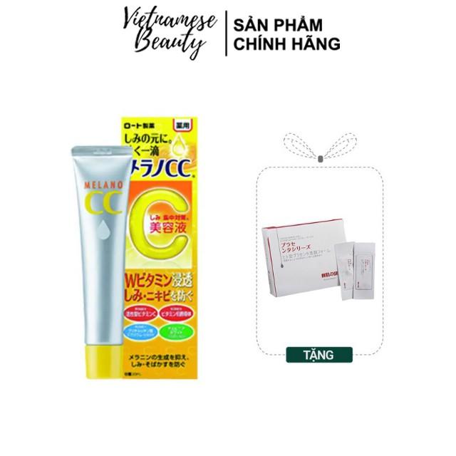 Serum Vitamin C Dưỡng Trắng Da Trị Thâm Nám Tinh Chất Melano CC 20ml - Vietnamese Beauty