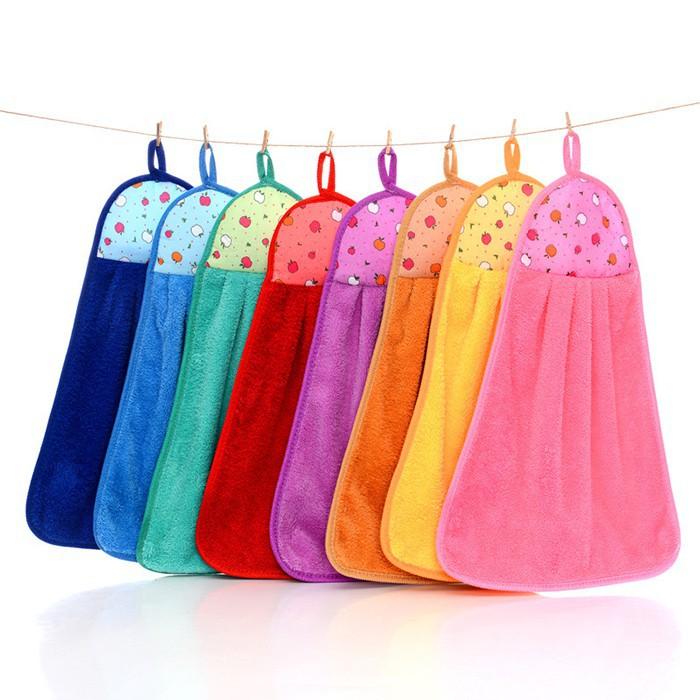 Xả 15 khăn lau nhà bếp tiện dụng (nhiều màu)