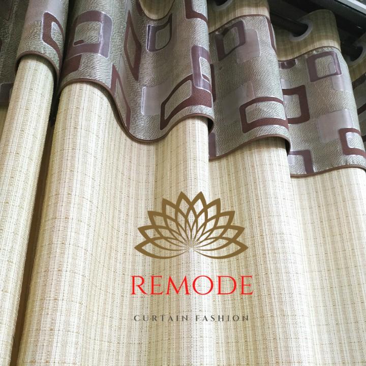 [SALE 50%] Rèm cửa❤️FREESHIP❤️ Rèm cửa vải thô đũi Hàn Quốc, màu sắc hiện đại trang trọng