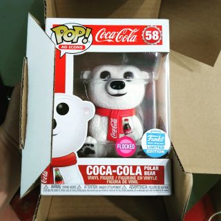 Mô hình funko pop Coca – cola flocked – hàng chính hãng