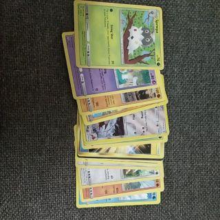 Thẻ bài Pokemon-Bộ 20 thẻ thường (Thẻ ngẫu nhiên)
