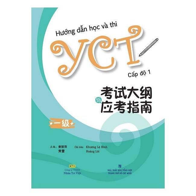Sách - Hướng Dẫn Học Và Thi YCT Cấp Độ 1 - 6175797817750