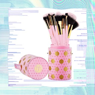 Bộ cọ 11 cây BH Cosmetics DOT Collection 11 Pieces Pink thumbnail