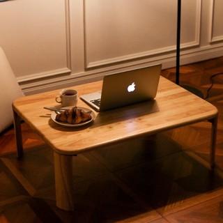 Bàn gỗ chân gấp gọn chân bánh mỳ nhiều size, Bàn xếp bằng gỗ đa năng 3 size