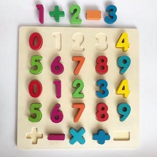 Bộ chữ số học toán cho bé yêu