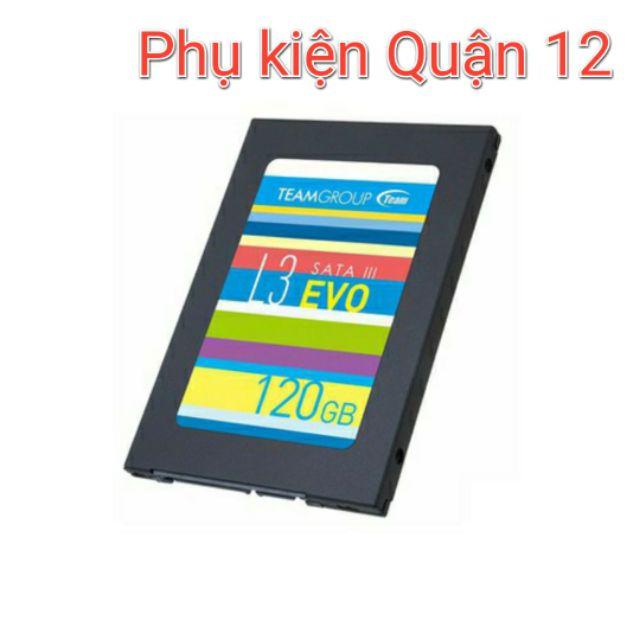 Ổ cứng SSD 120GB Team Group L3 EVO Chính hãng NWH phân phối Giá chỉ 405.000₫