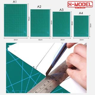Bảng cắt dụng cụ lắp ráp mô hình Gundam Bandai X-MODEL Size A5, A4, A3,A2,A1 chất liệu cao cấp thumbnail