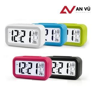 [FreeShip] Đồng hồ báo thức điện tử để bàn màn hình LCD đa chức năng - Siêu hot