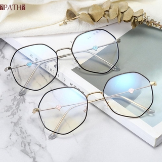 PATH Fashion Glasses Vision Care Eyeglasses Computer Goggles Ultralight Anti-UV Blue Rays Unisex Radiation Protection Flat Mirror Eyewear