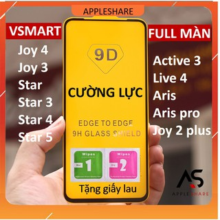 Kính cường lực Vsmart Full Màn Live 4 Joy 4 Joy 3 Active 3 Star 3 Star 4 Star 5 Aris Aris pro Joy 2 plus Star thumbnail