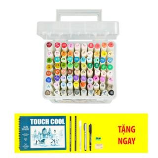 Bộ bút màu Touch 7 Soft head – set 60/80 màu