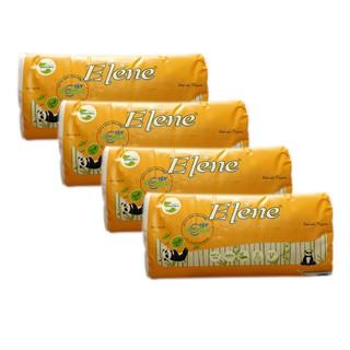 Combo 4 gói Khăn Giấy Tre Lụa - Elène Tre 480 tờ (160 Tờ/Bịch x 3 lớp)