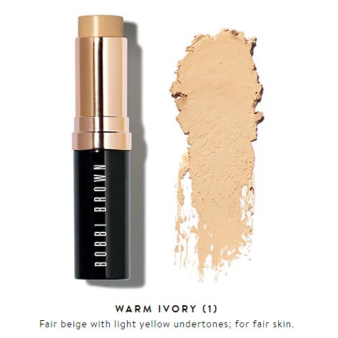 Kem nền dạng thỏi Bobbi Brown Skin Foundation Stick Warm Ivory