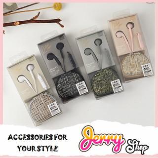 [FREESHIP Đơn 50k] Tai Nghe Chanel Style Mini HandBag Có Túi Đựng Tiện Lợi - Jerry Shop