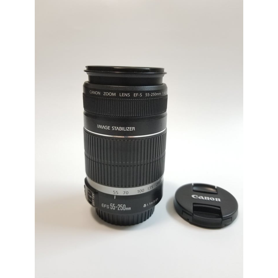 Canon 55-250 4-5.6 is