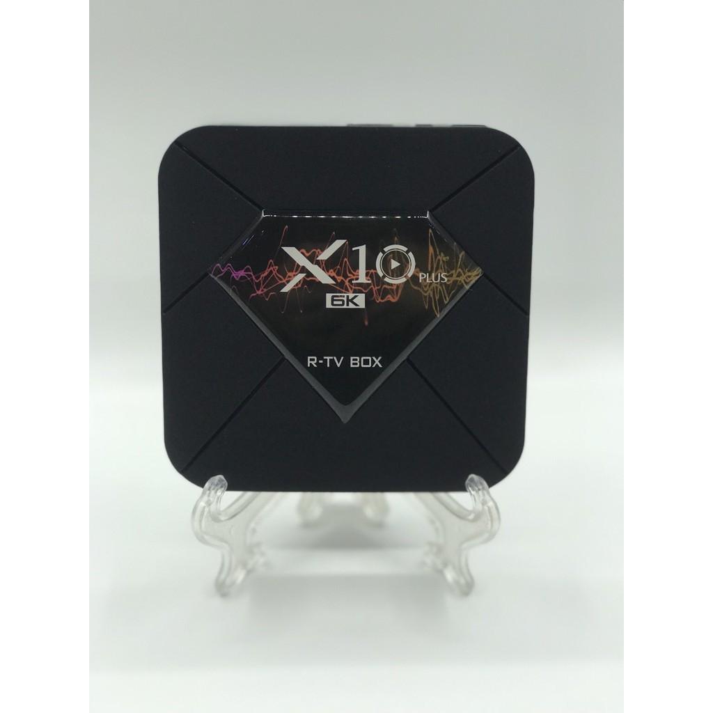 TV box X10 Plus, Ram 4GB, Bộ nhớ trong 64GB,  hệ điều hành android tv