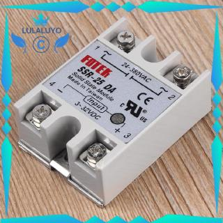 "MC Solid State Relay Module SSR-25DA 25A /250V 3-32V Input 24-380VAC Output""In Stock"""