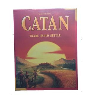 Catan – Trò chơi thẻ bài xây dựng – Phiên bản tiếng Anh cao cấp