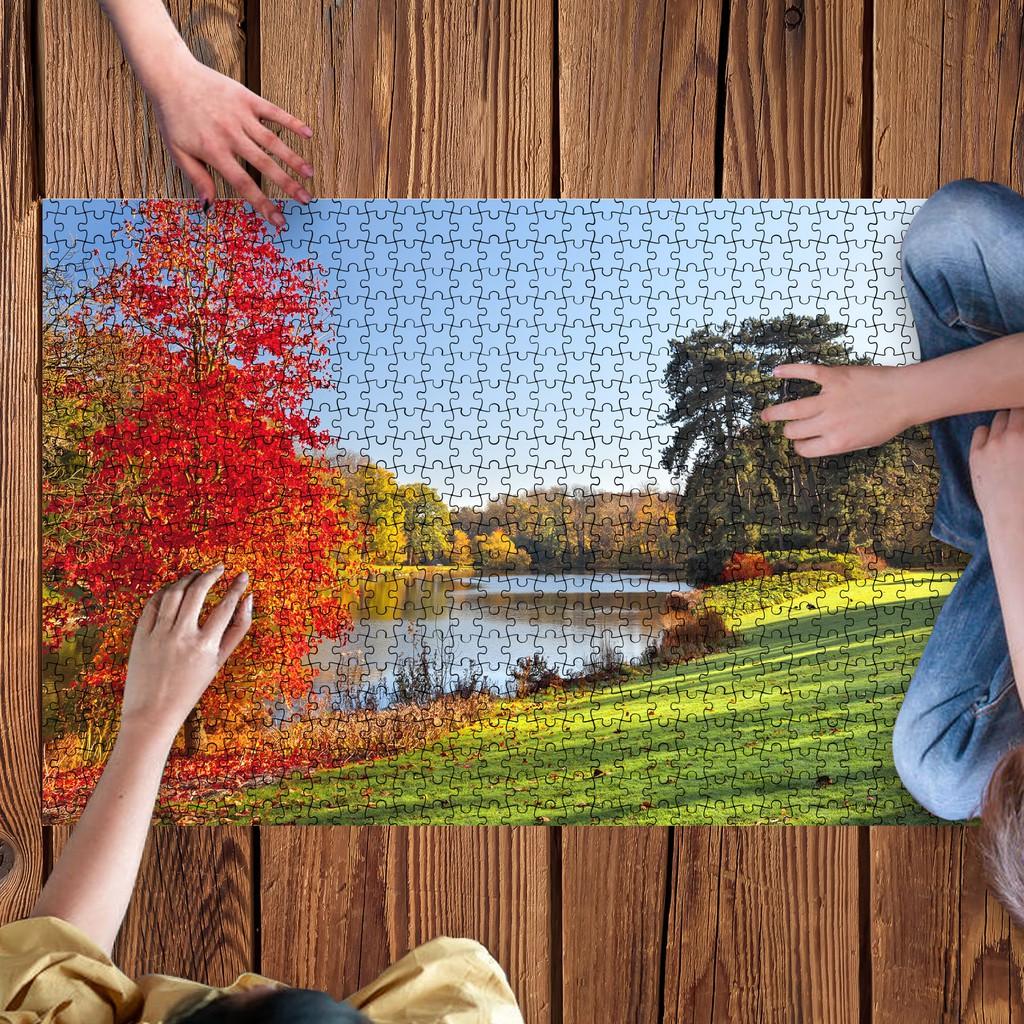 (Chọn 1 trong 20 mẫu) Tranh ghép hình 2000 mảnh ghép chủ đề các công viên thế giới