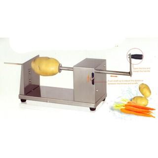 [Mã ELMS05 giảm 5% đơn 300k]Máy cắt khoai tây lốc xoáy ĐPT-01 (Inox bạc)