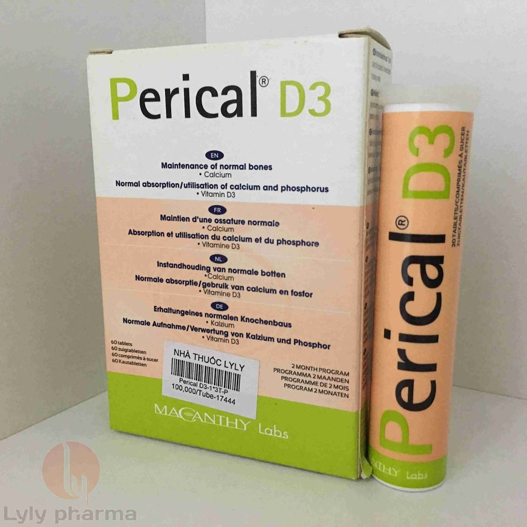 PERICAL D3 - BỔ SUNG CAN XI