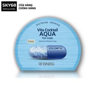 Mặt nạ cấp nước dưỡng da ẩm mượt, săn chắc BNBG Vita Cocktail Aqua Foil Mask - Intensive Moisturizing 30ml thumbnail