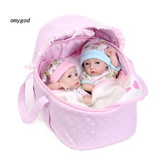 〖OMG〗40cm Handmade Lifelike Newborn Baby Doll Imitation Vinyl Silicone Reborn Toy